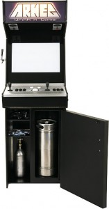 Arkeg Gaming Cabinet and Kegarator